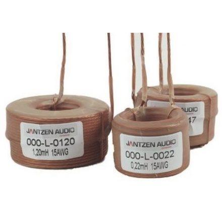 Litze légmagos tekercs 1,000mH +/-3% 0,348Ω 7x0,5mm=15AWG OD-61 / 30mm - Több.../Otthoni audio/