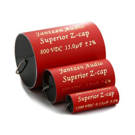 Superior Z-Cap kondenzátor 1,00µF 800VDC 2% MKP dia-19 / 43mm - Hangfal/Hangfalépítés/Kondenzát
