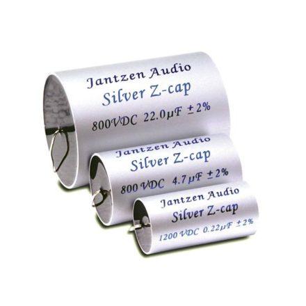 Silver Z-Cap kondenzátor 1,00µF 800VDC 2% MKP dia-19 / 43mm - Több.../Otthoni audio/Jantzen Aud