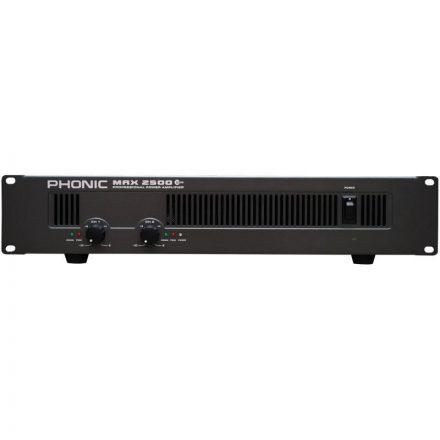 MAX2500 Plus végerősítő, 2x750W / 4 Ohm - Erősítő/Erősítő, kétcsatornás