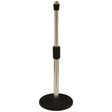 LK-935W, asztali mikrofonállvány, körtalpas, alacsony - Állvány/Mikrofonhoz/Asztali mikrofonáll