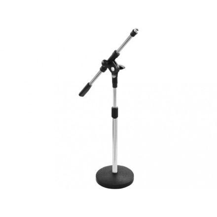 LK-918B, asztali gémes mikrofonállvány, körtalpas, alacsony - Állvány/Mikrofonhoz/Asztali mikro