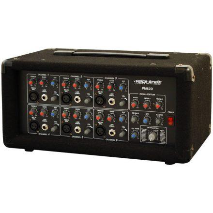 PM62D Powermixer, 2x75W/4Ohm, effekt - Erősítő/Keverőerősítő, PA