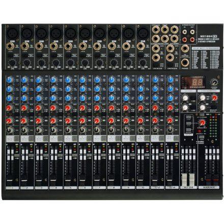 MX1804FX 10 mono / 2 stereo keverő effekttel - Keverő/Keverő, PA és Hangrögzítés