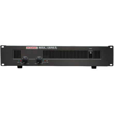 MAX1500 Plus végerősítő, 2x450W / 4 Ohm - Erősítő/Erősítő, kétcsatornás