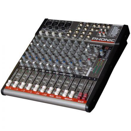 AM442D USB keverő, 4 monó/4 sztereó csatorna, effekt, USB - Keverő/Keverő, PA és Hangrögzítés