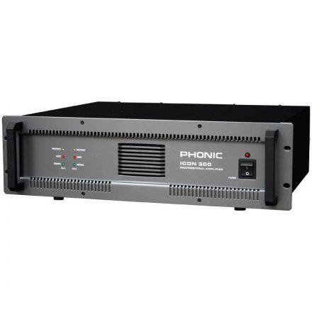 ICON300 2x200W/4 ohm vagy (25V-200V) - Erősítő/Erősítő, 100V rendszer,Erősítő/Erősítő, kétcsato