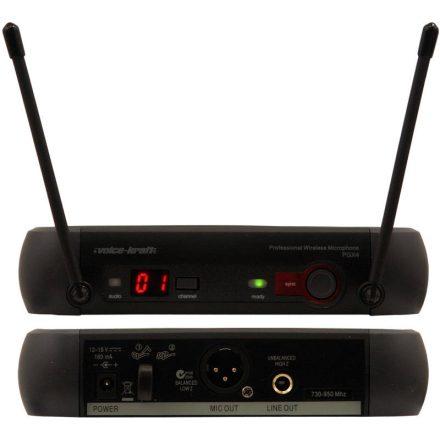 PGX4, UHF fejmikrofon szett, fekete - Vezeték nélkül/Vezeték nélküli mikrofonok - zsebadós szet