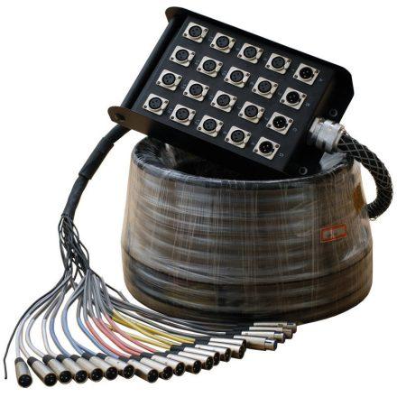 SBL104-20M Csoport kábel, 16+4 ér, 20m - Kábel, csatl./Kábel/Csoportkábel, stage kábel