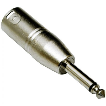 ADA-008 XLR(p) - 6,3 Jack(p) átalakító, monó - Kábel, csatl./Átalakító és toldó