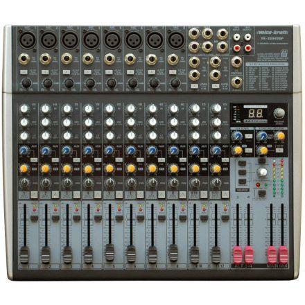 VK-2204FX DSP keverő, 8 Monó/2 Sztereó csatorna, effekt - Keverő/Keverő, PA és Hangrögzítés
