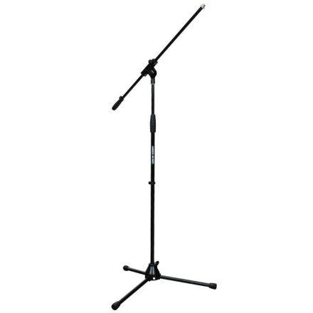 MS109B Gémes mikrofonállvány, fekete - Állvány/Mikrofonhoz/Földi mikrofonállvány