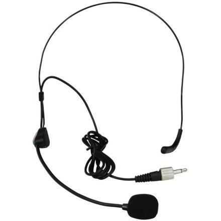 HT-9A kondenzátor fejmikrofon, kardioid, fekete - Mikrofon/Fejpántos mikrofon,Mikrofon