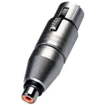 NA2FPMF átalakító 3 pólusú XLR aljzat - RCA aljzat - Kábel, csatl./Átalakító és toldó