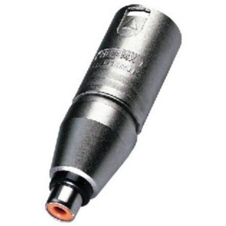 NA2MPMF átalakító 3 pólusú XLR dugó - RCA aljzat - Kábel, csatl./Átalakító és toldó