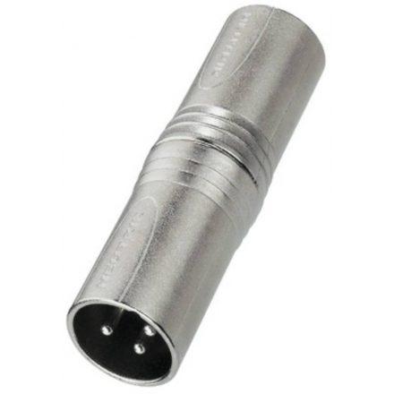 NA3MM átalakító 3 pólusú XLR dugó - 3 pólusú XLR dugó - Kábel, csatl./Átalakító és toldó