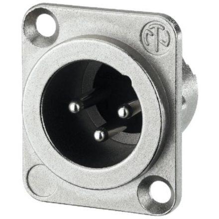NC3MDLX 3 pólusú XLR dugó - Kábel, csatl./Csatlakozó/XLR csatlakozó