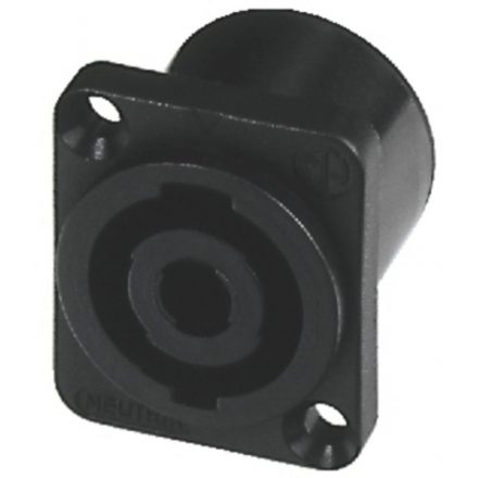 NL4MP 4 pólusú hangfalcsatlakozó beépíthető, D házas - Kábel, csatl./Csatlakozó/Speakon csatlak